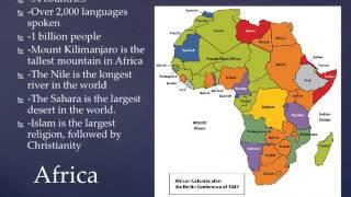 Continents Lap Book