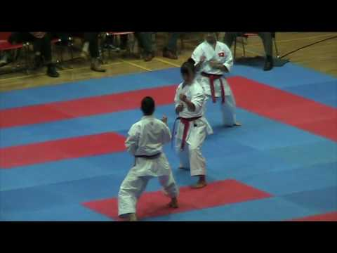 Team Bunkai GOJUSHIHO DAI - Female Vietnam National Team