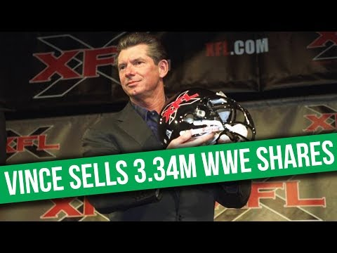 Vince McMahon Sells 3.34 Million WWE Shares | Title Change On NXT