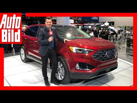 ford edge facelift naias 2018 details erkl rung youtube. Black Bedroom Furniture Sets. Home Design Ideas