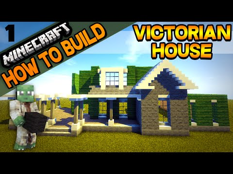 Minecraft | Victorian House | How to Build | E01