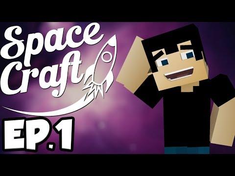 SpaceCraft: Minecraft Modded Survival Ep.1 - Beautiful Spawn!