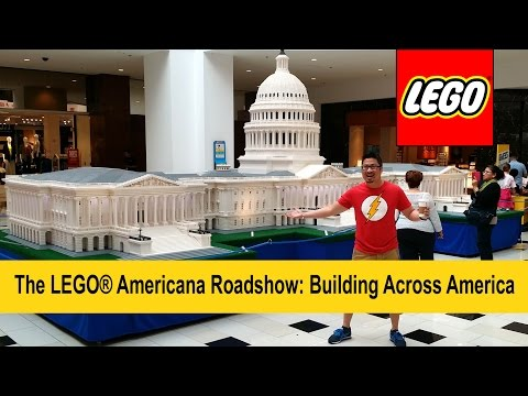 The LEGO® Americana Roadshow: Building Across America Feat. US Capitol Building & The White House
