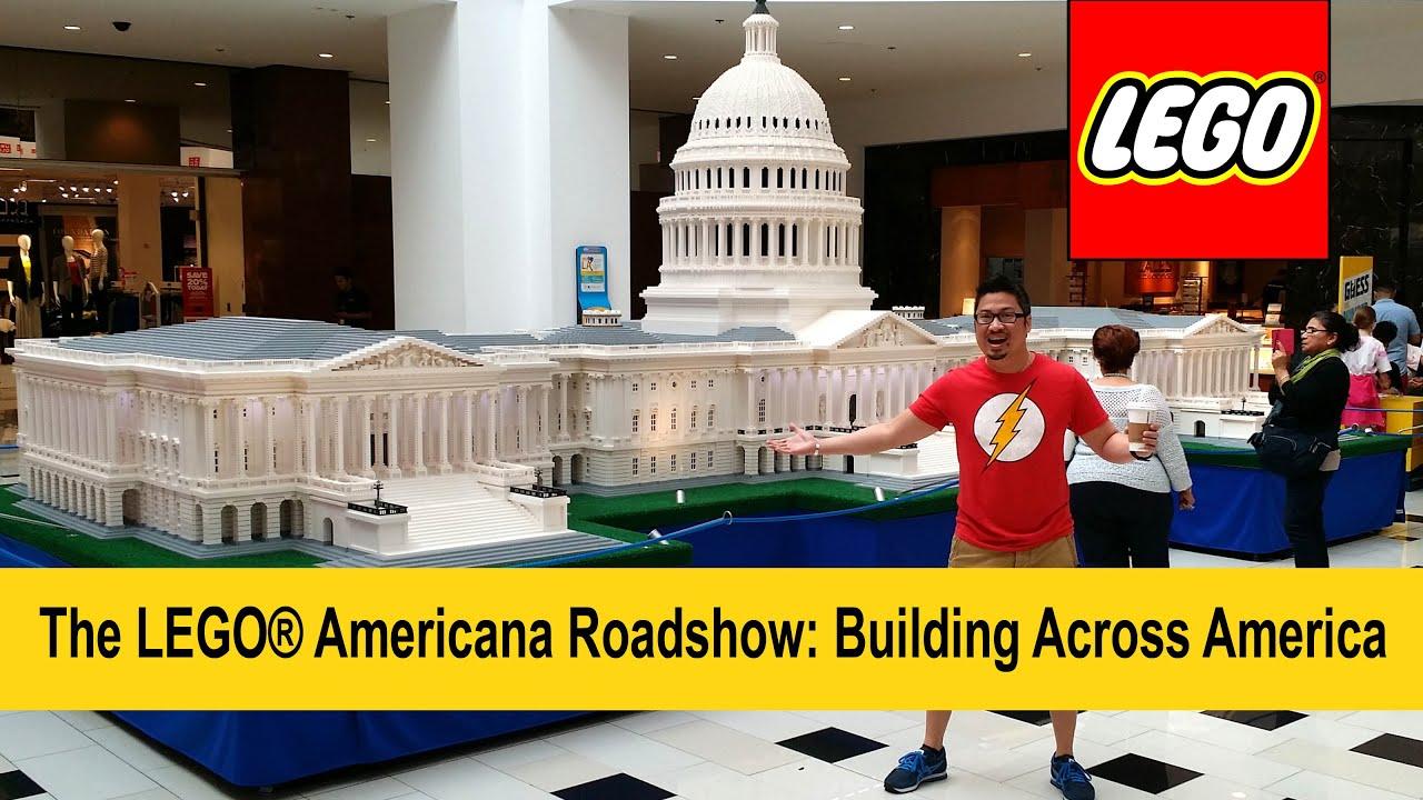 the lego® americana roadshow: building across america feat. us