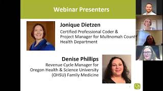 Billing for Integrated Behavioral Health Primary Care Coding Guidelines Recording