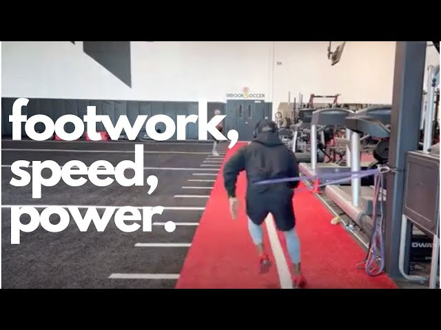 ABT- Athletic Based Training: Footwork Drills to Increase Speed, Power, and Acceleration