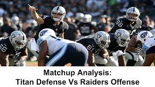 Matchup Analysis: Titans Defense vs Raiders Offense