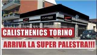 Calisthenics Torino - Lo Staff va in Ritiro per Prepararsi - Vlog Palestra 3