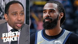 The Grizzlies trade Mike Conley to the Jazz for Korver, Allen, Crowder, and a pick | First Take