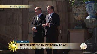Hör statsministerns unika tal till kronprinsessan! - Nyhetsmorgon (TV4)