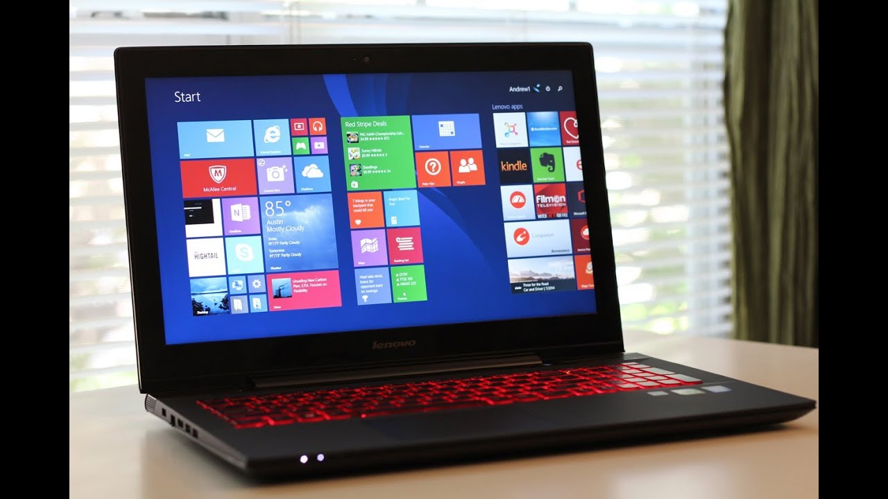 "Lenovo Y50 15.6"" Gaming Laptop Review - YouTube"
