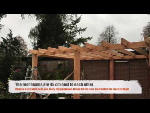 Howdo they do that: Build a patio roof/cover with Douglas wood (part 1)