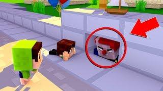 ONDE O PALHAÇO ESTÁ ESCONDIDO ?? - Minecraft