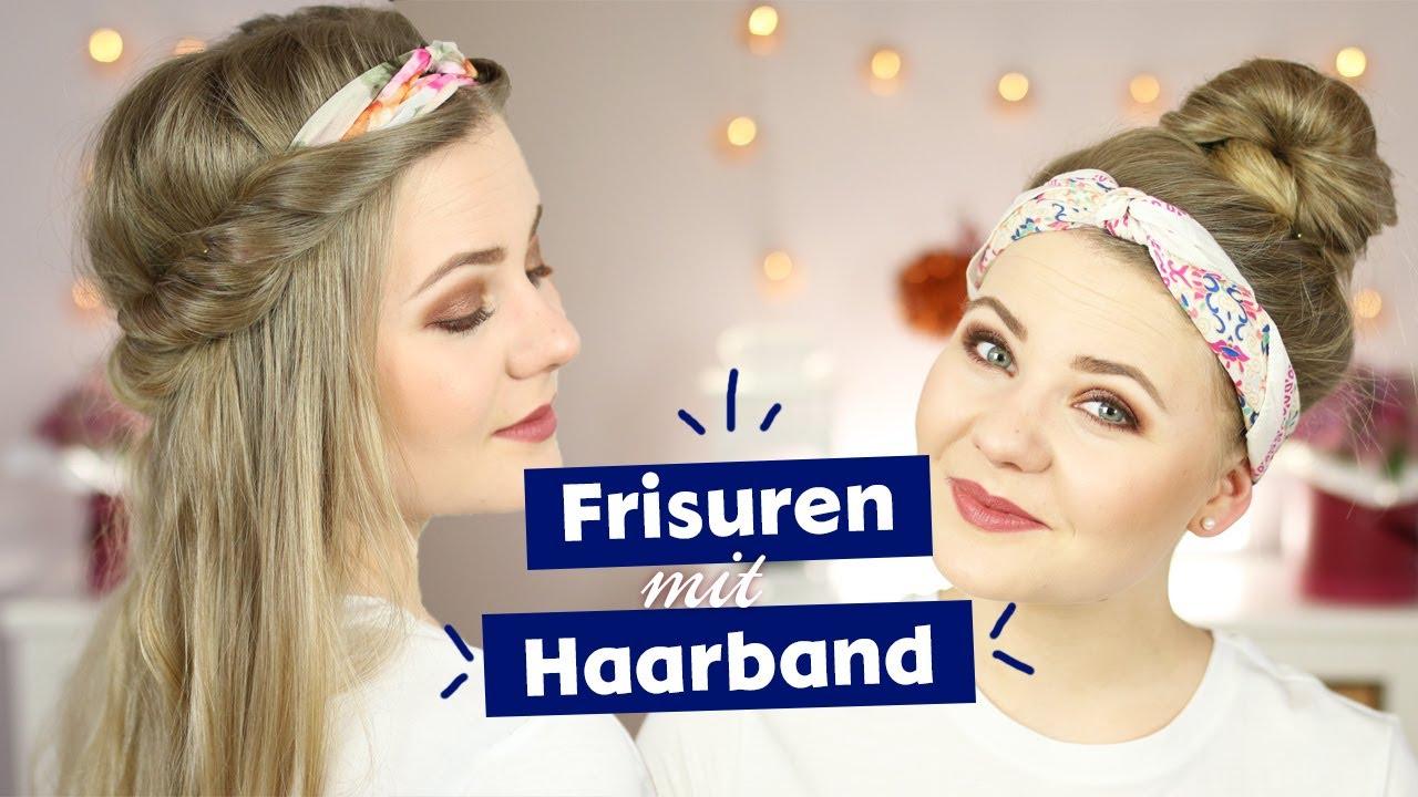 Frisuren Mit Haarband I DominoKati YouTube
