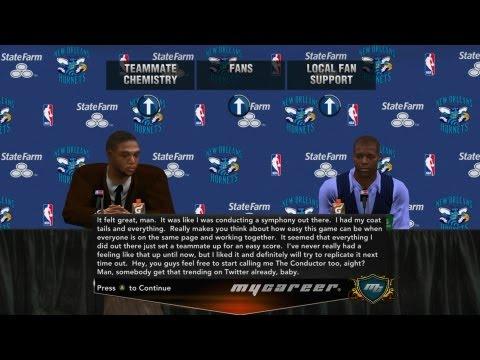 NBA 2K13 My Career - Triple Double Shot Clock Cheese