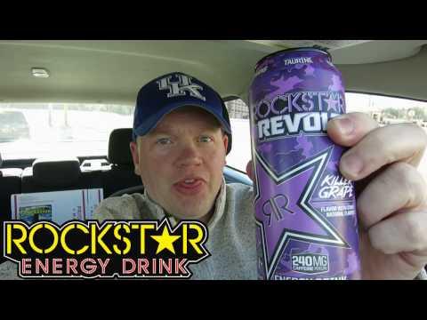 Reed Reviews Rockstar Revolt Killer Grape