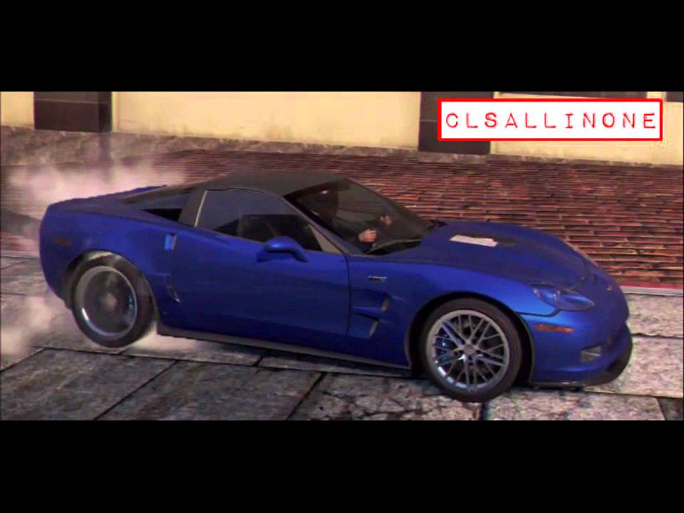 Genial Chevrolet Corvette ZR1 Burnout