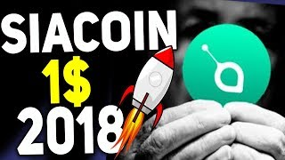 СПЯЩИЙ ГИГАНТ Как Криптовалюта Siacoin Завоюет Рынок Криптовалют 2018 Прогноз