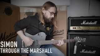 MANSON / CORT MATTHEW BELLAMY SIGNATURE MBC-1 GUITAR DEMONSTRATION