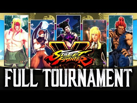 Street Fighter 5: TSC2017 - Full Tournament! [TOP8 + Finals]