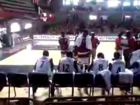 match de Basket Centrafrique  Mozambique