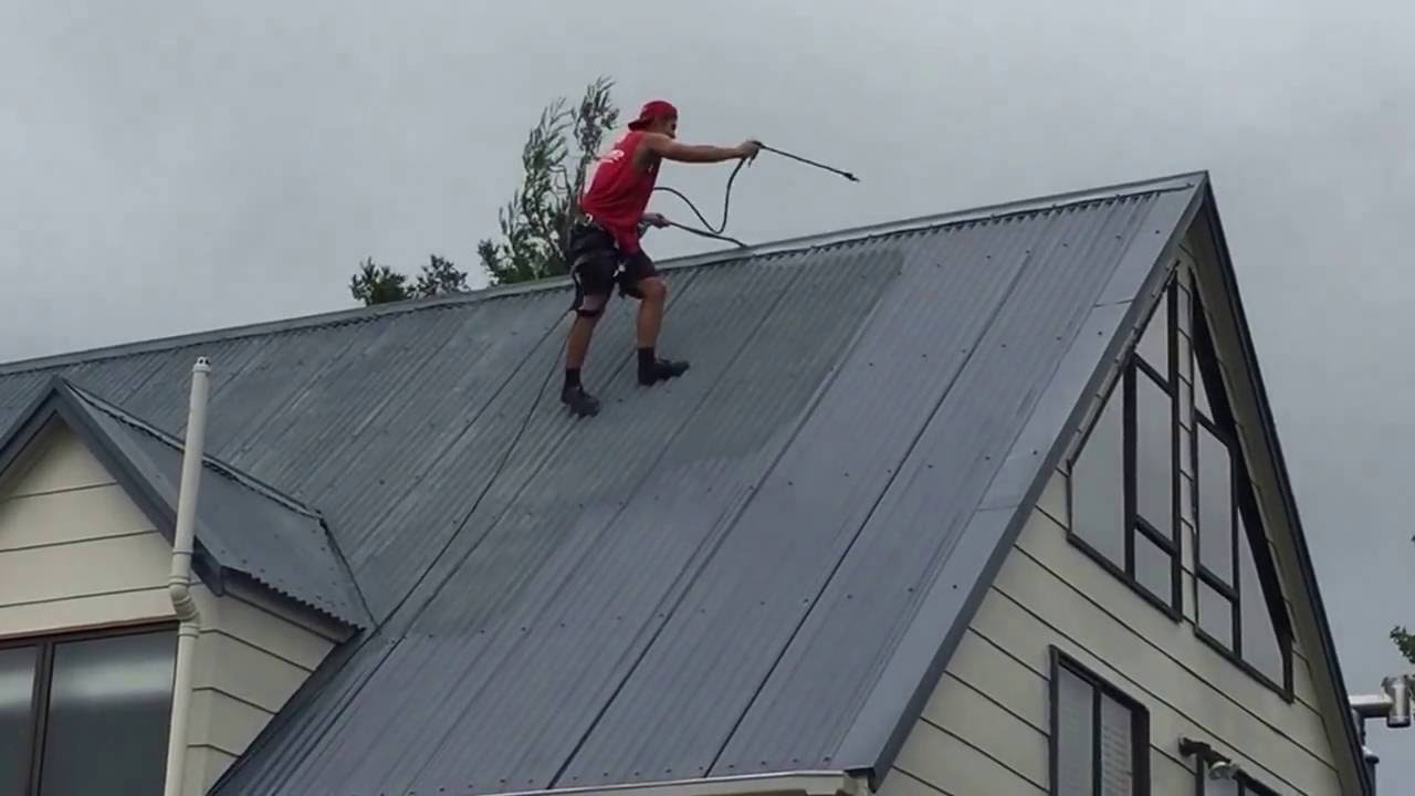 Roof Painting Auckland Youtube