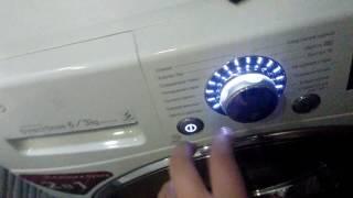 Как стирать рубашки в стиральной машине LG INVERTER DirectDrive 6/3kg
