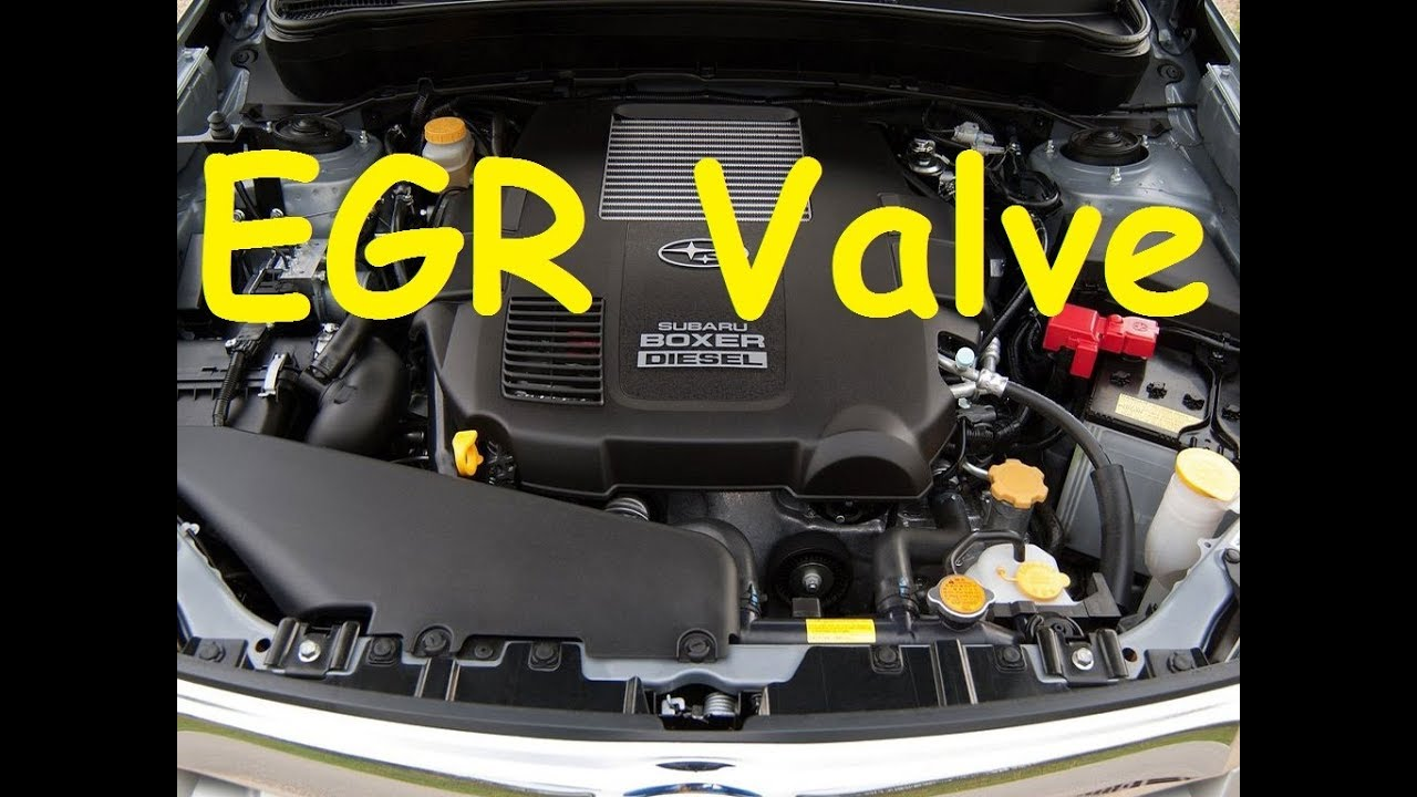 Subaru EGR  Subaru EGR Valve Subaru Boxer Diesel EGR  Subaru EGR valve cleaning  YouTube