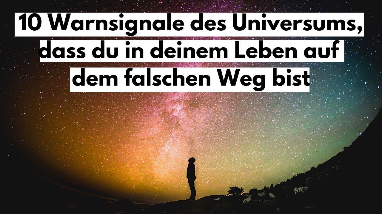 Download 10 Warnsignale des Universums, dass du in deinem Leben auf dem falschen Weg bist.