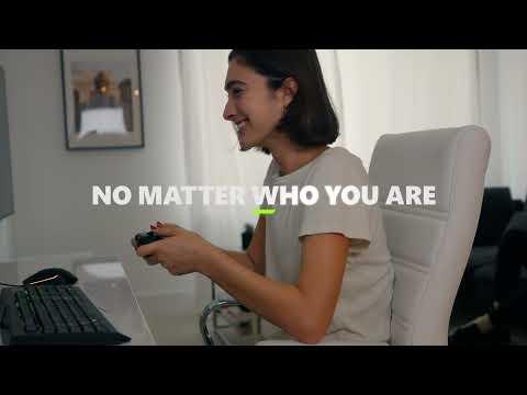 Xbox Wireless Controller - Shock Blue - Video