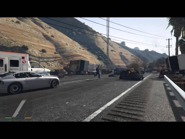 GTA V AI Goes Mental – Causes Truly Epic Car Crash | eTeknix