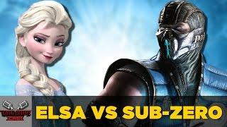 ELSA VS SUB-ZERO | DEATH BATTLE Cast thumbnail