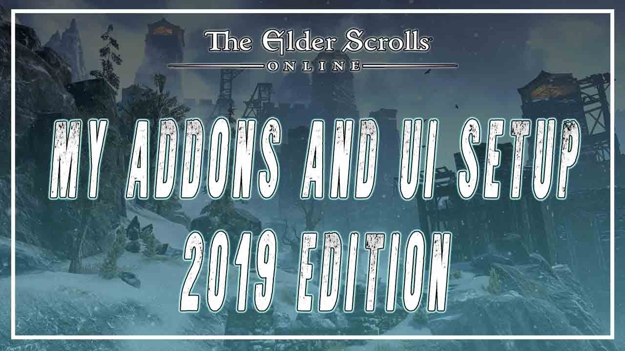 Best Eso Addons 2019 My ESO Addons And UI Setup 2019 | Murkmire Patch   YouTube