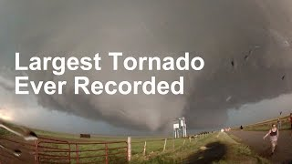 The World's Largest Tornado - El Reno Oklahoma May 2013