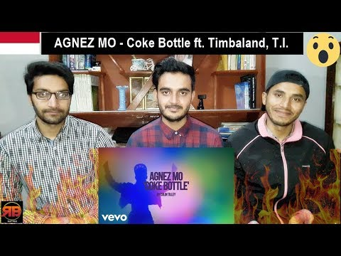 Foreigner Reacts To: AGNEZ MO - Coke Bottle ft. Timbaland, T.I.
