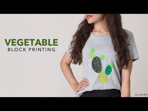 DIY: Block Printing With Vegetables