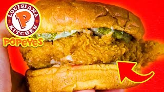 Top 10 Popeyes Food People Go CRAZY For!!!