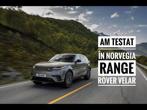 Range Rover Velar Test Drive  - primul test video în română