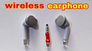 how to make wireless earphone with led sensor