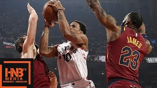 Cleveland Cavaliers vs Toronto Raptors Full Game Highlights / Game 2 / 2018 NBA Playoffs