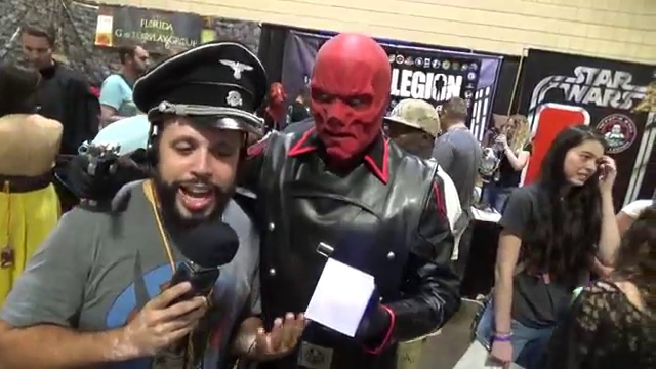 Red Skull Cosplay - Tampa Bay Comic Con 2015