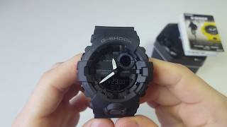 G-Squad. G-Shock Step Tracker Bluetooth GBA-800-1A. Обзор\Review