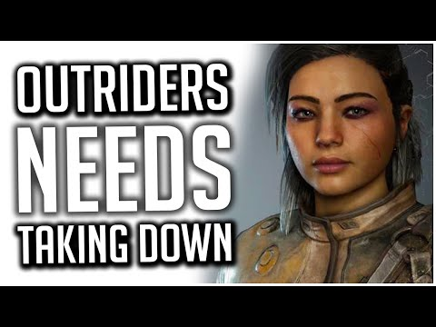 Outriders NEEDS TAKING OFF THE MARKET! | It's the MOST BROKEN Game I Have EVER Played |