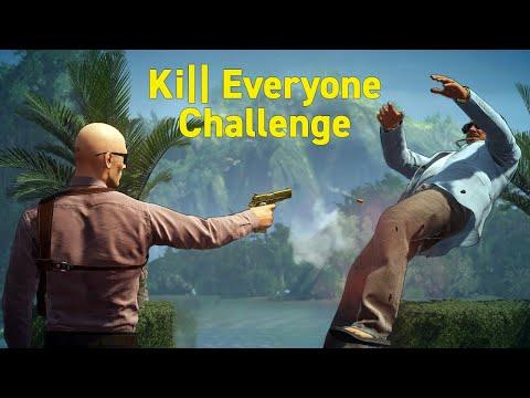 HITMAN 2 - El Matador Eliminating Everyone Challenge in Colombia