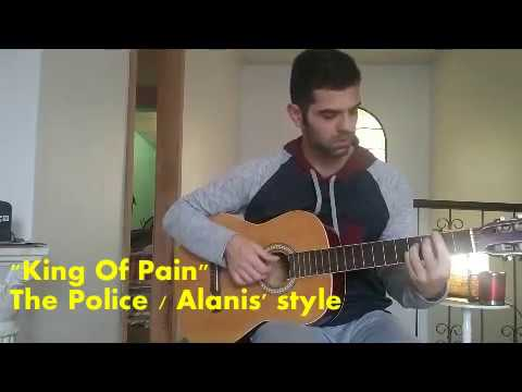 """""""King Of Pain"""" (The Police - Alanis' Style on Unplugged MTV)"""