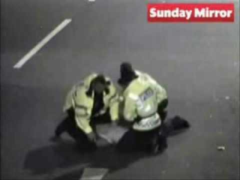 Police Attack War Veteran