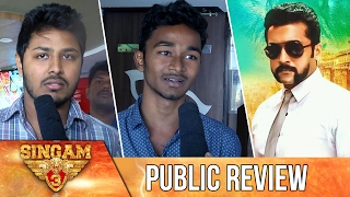 Singam 3 Public Review | Surya, Anushka, Shruthi Hassan | S3 Theater Response
