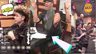 Lonzo Ball ROASTS The Entire BALL FAMILY at Liangelo Ball's BIRTHDAY PARTY ● BALL BROTHERS REUNITED!