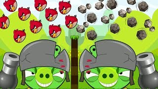 Angry Birds Collection Hacked 2 - OVERDRIVE THROW MAXIMUM BIRDS AND STONE TO PIGGIES!