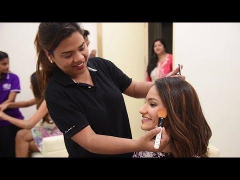 Miss India 2018 Tamil Nadu finalists visit the Naturals Salon